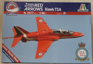 Italeri 1/48 2677 BAe Hawk T1A 'Red Arrows'